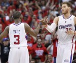 REUTERS FILE PHOTO: LA Clippers' Chris Paul and Blake Griffin