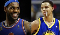 REUTERS FILE PHOTO: LeBron James and Stephen Curry