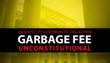 Supreme Court declares QC LGU collection of garbage fee as unconstitutional (UNTV News)