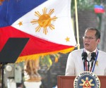 FILE PHOTO: Si Presidente Benigno S. Aquino III noong Hunyo 12, 2014 sa pagdiriwang ng Araw ng Kalayaan na ginanap sa Plaza Quince Martires sa Naga City, Camarines Sur. (Photo by Ryan Lim / Malacañang Photo Bureau)