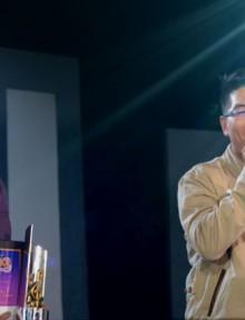"(Left-Right) ASOP Song of the Month ""Pahintulutan Mo"" composer Leandro De Jesus III and interpreter Jon Philippe Go (Madz Milana / Photoville Interanational)"
