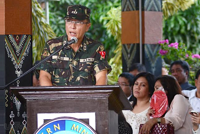 FILE PHOTO: Ang dating commander ng Eastern Mindanao Command o EastMinCom ng Armed Forces of the Philippines na si Major General Rainier Cruz (PHOTOVILLE International)