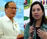 FILE PHOTO: Pres. Benigno Aquino III  and DOH Sec. Janet Garin (Malacañang Photo Bureau / UNTV News)