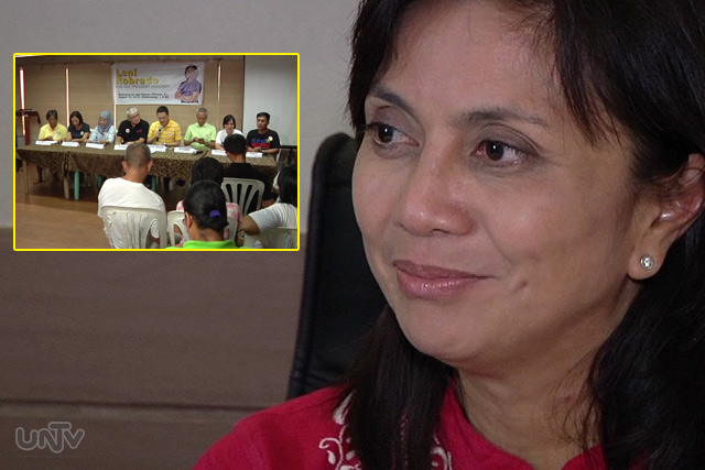 Rep. Leni Robredo urged to run for vice president in 2016.