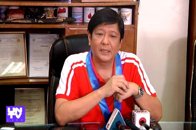 "Senator Ferdinand ""Bongbong"" Marcos Jr. (UNTV News)"
