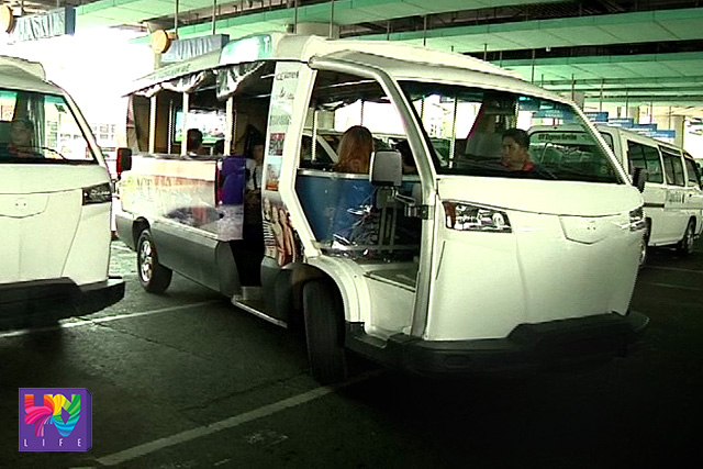 Upgraded e-jeepneys back in the streets.