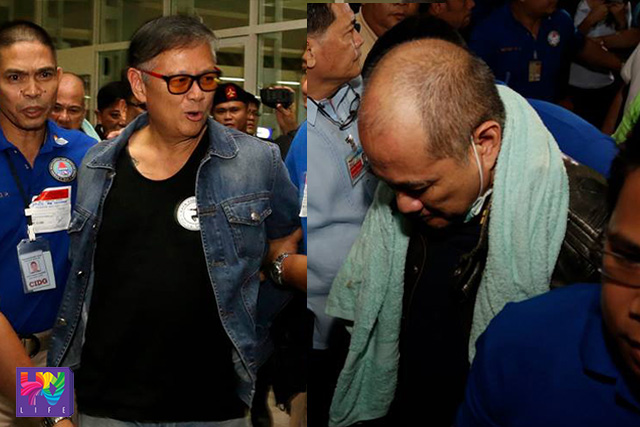 Ang pagdakip ng PNP-CIDG sa magkapatid na Reyes sa NAIA nitong umaga ng Biyernes, Setyembre 25, 2015 matapos maideport mula sa Thailand. (UNTV News)