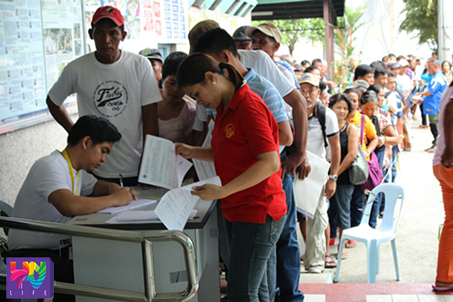 Around 75,000 claims are still on cue for process at HRVCB. FILE PHOTO. (REY PELAYO / UNTV News)