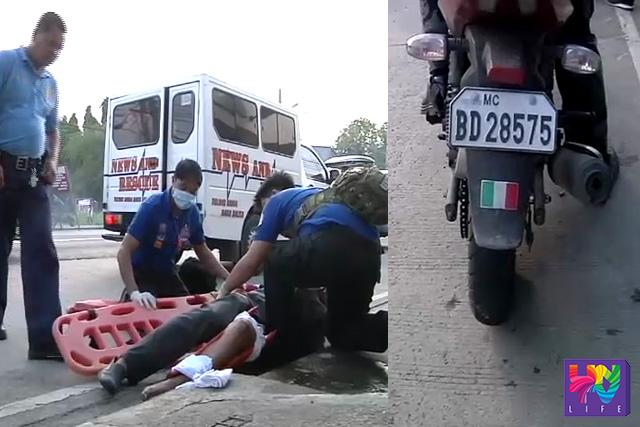 Tinulungan ng UNTV News and Rescue Team ang isang motoristang naaksidente sa Balagtas, Bulacan, Miyerkules ng umaga.