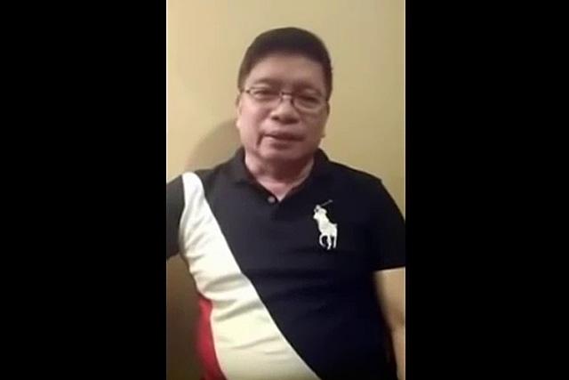 Former INC Minister Isaiah Samson Jr. (screenshot from uploaded video)