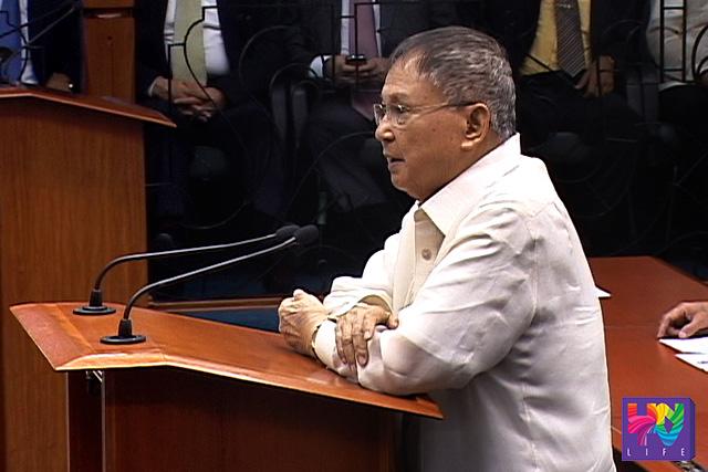 Former Senator Joker Paz Arroyo, 1927-2015
