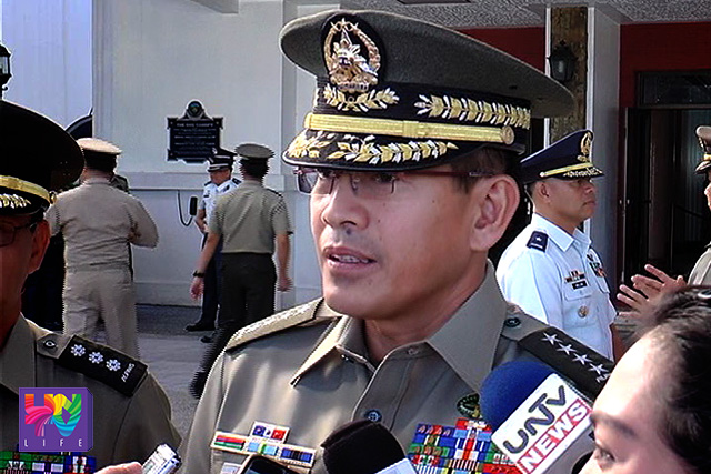 """As much as possible, we don't want to convey any information about their location,"" adding that this may further endanger the lives of the victims."" — AFP Chief of Staff Major General Hernando Iriberri (UNTV News)"