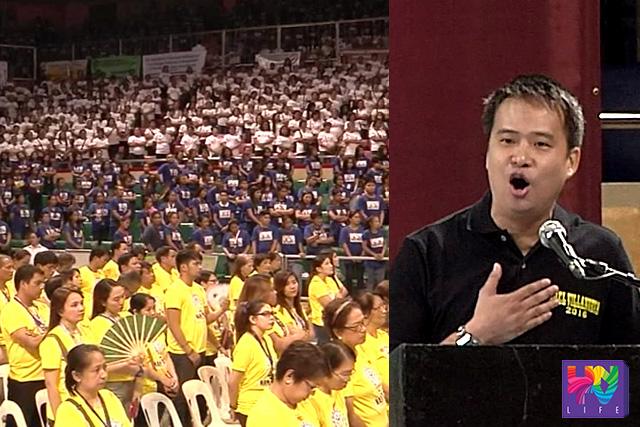 Pormal nang nagpahayag ng kandidatura si TESDA Director Sec. Joel Villanueva ngayong araw ng Martes.