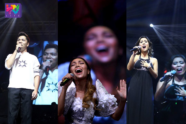It was also a reunion of previous ASOP Grand Finals interpreters like MCoy Fundales, Jonalyn Viray and Rachel Alejandro as they performed the medley of past grand finals. (PHOTOVILLE INTERNATIONAL)
