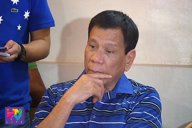 On the first day of COC filing,  Davao City Mayor Rodrigo Duterte said he will not run for president