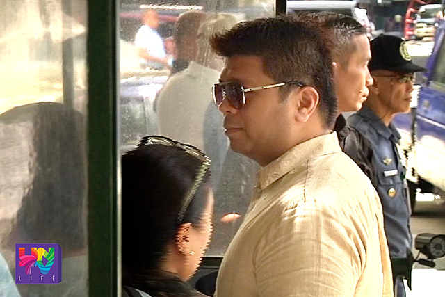Former INC Minister Lowell Menorca II inside the Court of Appeals compound on Tuesday, November 04, 2015 for the hearing of Amparo petition against the Iglesia ni Cristo leaders. (UNTV News)