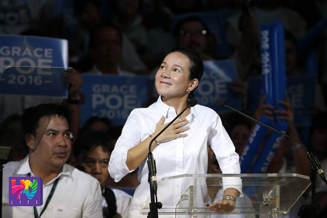 FILE PHOTO: Senator Grace Poe (Photoville International)