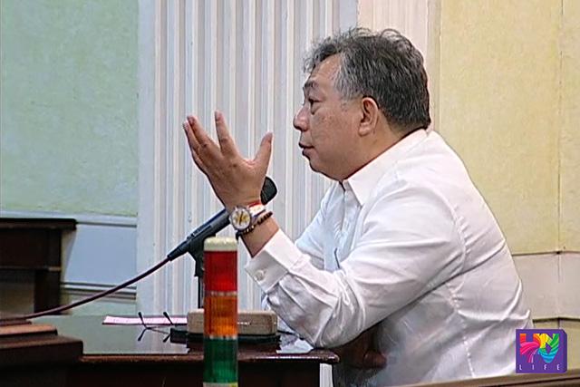 Department of Justice Secretary Benjamin Caguioa (UNTV News)