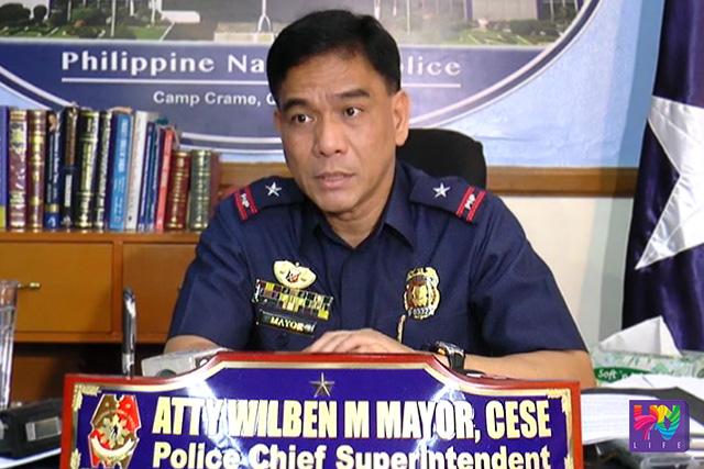 FILE PHOTO: PNP PIO Chief P/CSupt. Wilben Mayor (UNTV News)