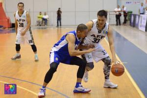 Dahil sa tagumpay kontra sa PNP Responders nitong Linggo, naka-seguro ang AFP Cavaliers ng twice-to-beat advantage sa semifinal round ng UNTV Cup Season 4. (Charlie Miñon / UNTV News)