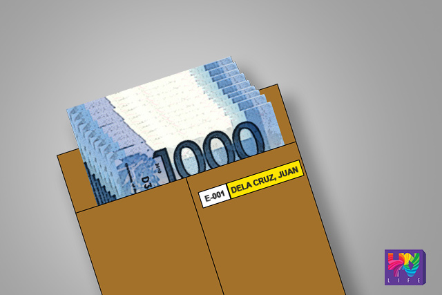 Graphics: Payroll envelope