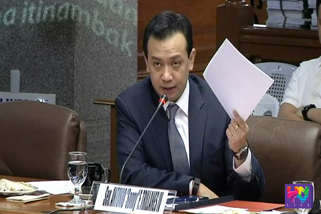 FILE PHOTO: Senator Antonio Trillanes  IV