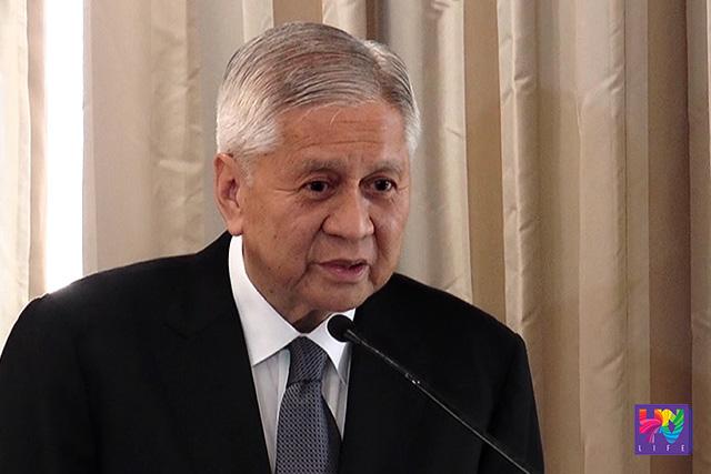 Outgoing DFA Secretary Albert Del Rosario
