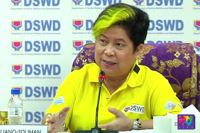 DSWD Sec. Dinky Soliman (UNTV News)