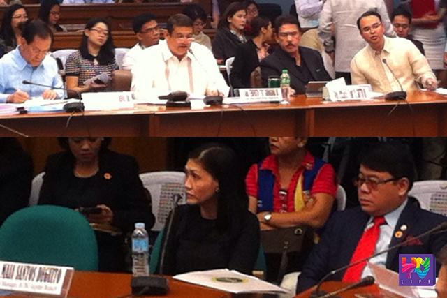 Ang Senate Blue Ribbon Committee hearing sa  81-million US dollar money laundering activity. (ROSALIE COZ / UNTV News)