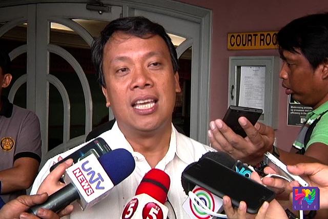 Presidental Adviser on Environmental Protection at Laguna Lake Development Authority (LLDA) General Manager Nereus Acosta (UNTV News)