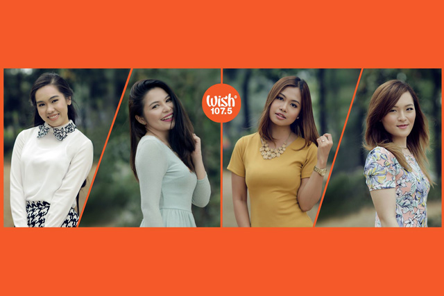 (LEFT-RIGHT) Female Wish 107/5 jocks – Princess Leigh of Wonderland, Faye of Wishpers of Love, Jelly Kiss of The Road Show and Alice of Wishlist.