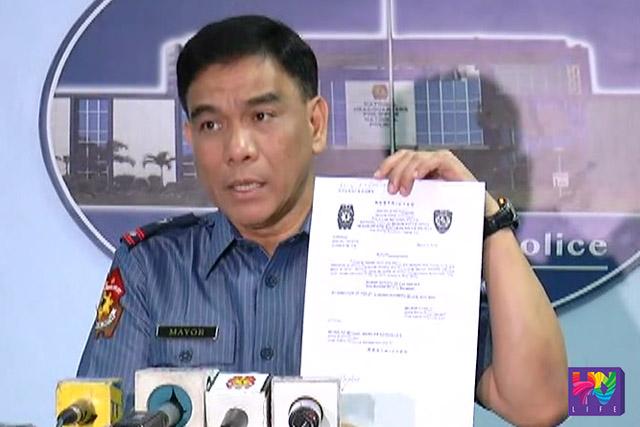Hawak ni PNP Spokesperson Atty. Wilben Mayor ang order mula sa SPD para kina PO3 Rommel Macaspac at hepe ng traffic division ng Pasay PNP.
