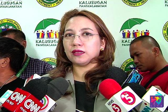 Department of Health Secretary Dr. Janette Loreto-Garin