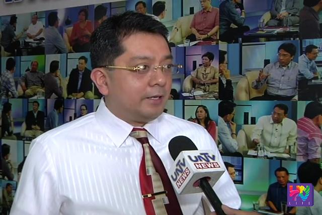 Election Lawyer Atty. George Erwin Garcia. (UNTV News)