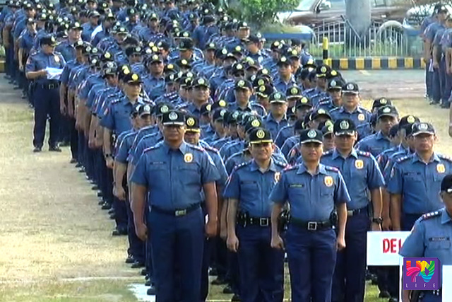 Deployment of PNP troops as it declares heightened alert status starting May 1 until election day.