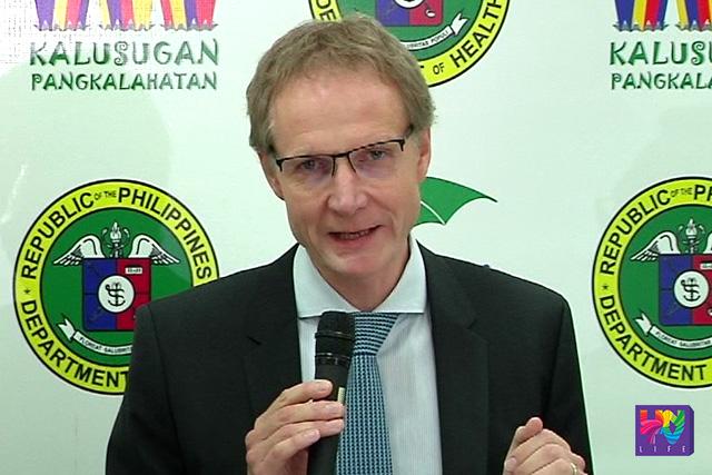 World Health Organization Representative Dr. Gundo Weiler (UNTV News)