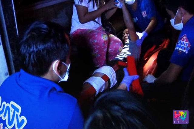 Ang pagresponde ng UNTV News and Rescue sa aksidente sa  San  Simon, Pampanga.  (UNTV News)