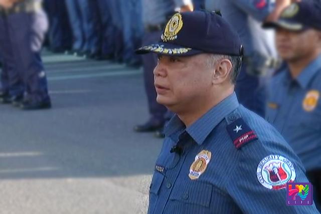 Ang bagong Brigade Commander ng Reactionary Standby Support Force na si PCSupt. Francis Elmo Sarona.