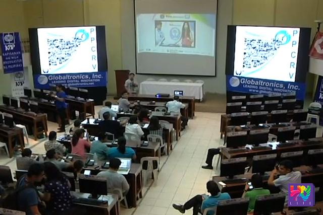 Inihahanda na ng Parish Pastoral Council for Responsible Voting (PPCRV)  ang   command center nito  para sa  unofficial parallel count  matapos  ang botohan sa May 9.