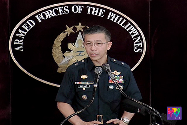 AFP Spokesperson BGen. Restituto Padilla Jr.