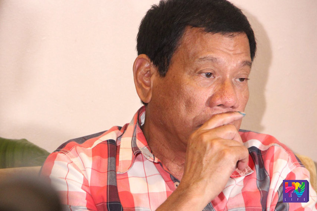 Presumptive president Rodrigo Duterte. (UNTV News/Photoville International)