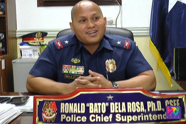 Icoming PNP Chief PCSupt. Ronald Dela Rosa.