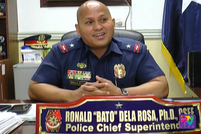 Icoming PNP Chief PCSupt. Ronald Dela Rosa.