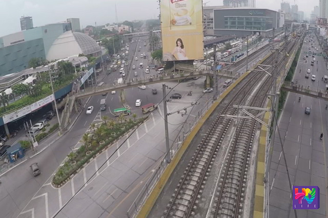 An aerial view of the place where the Department of Transportation and Communications (DOTC) wants to build the LRT-MRT common station captured via UNTV Drone. (UNTV News)