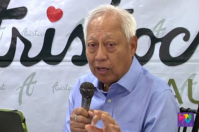 Former Commission on Elections Chairman Christian Monsod
