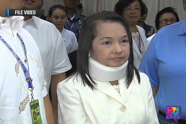 FILE PHOTO: Pampanga Representative Gloria Arroyo.