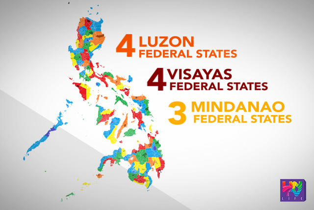 duterte allies initiate introduction of federalism to the public