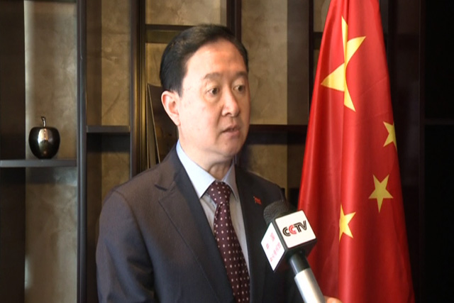 Chinese Ambassador to United Arab Emirates Chung Hua.