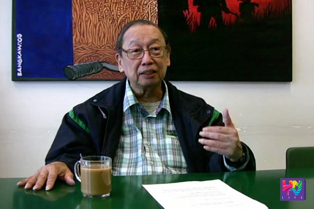 Jose Maria Canlas Sison, founder of Communist Party of the Philippines (UNTV News)