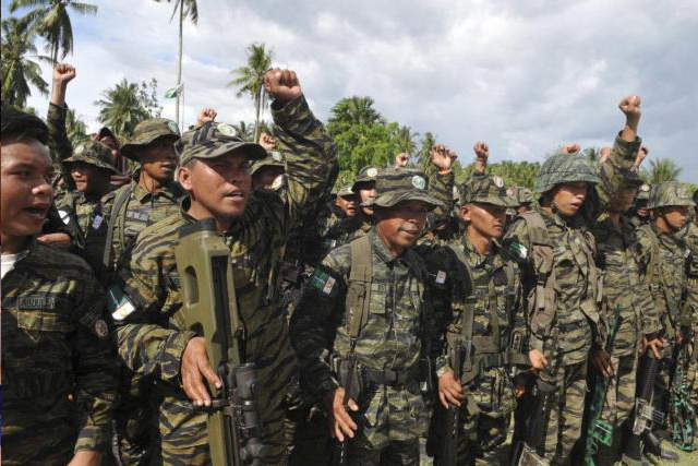 Milf message to troops